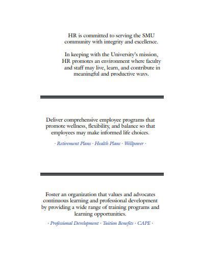 hr association mission statement