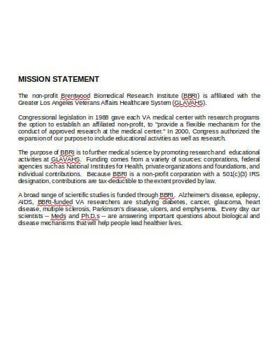 hr mission statement in doc