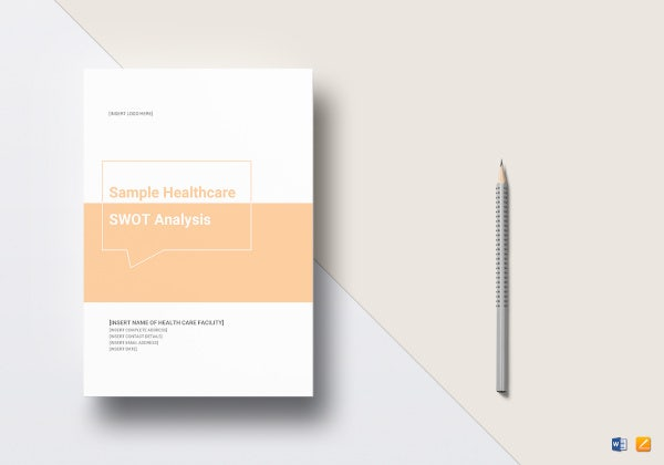 healthcare swot analysis template