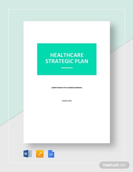 healthcare strategic plan