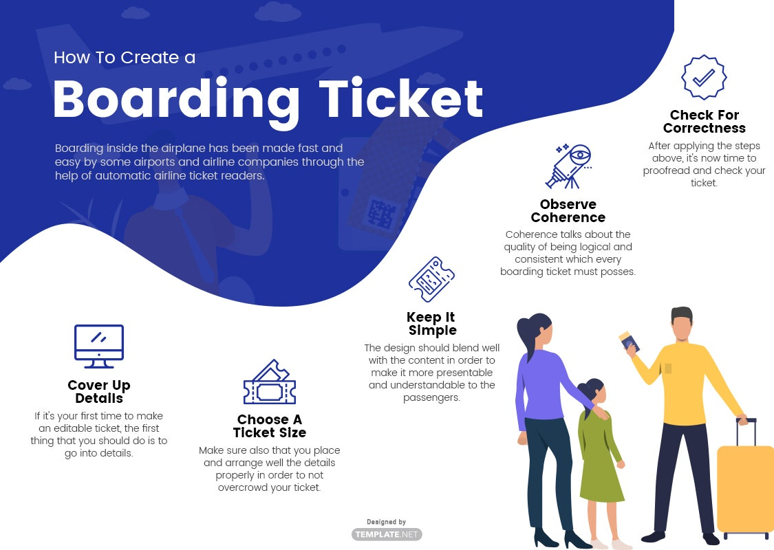 boarding ticket template