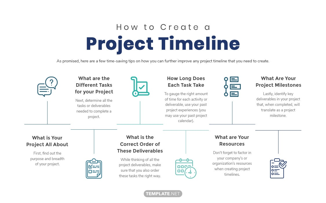 project timeline template