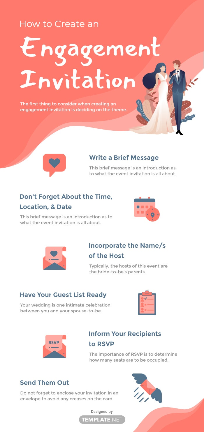 how to create an engagement invitation