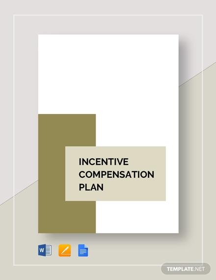 incentive compensation plan