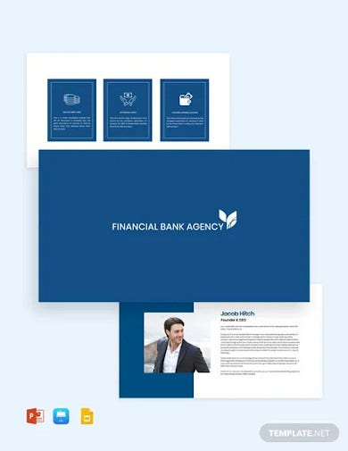 information technology company presentation template