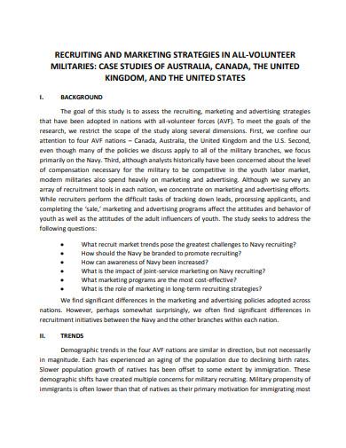 international recruitment marketing strategy