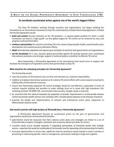investment partnership agreement template