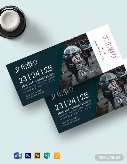 multipurpose event ticket template 1