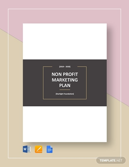 nonprofit marketing plan