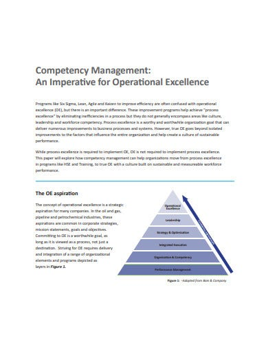 operational competency management