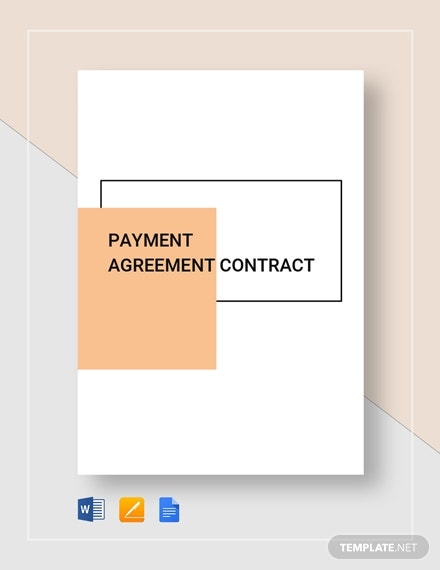 payment agreement contract 22