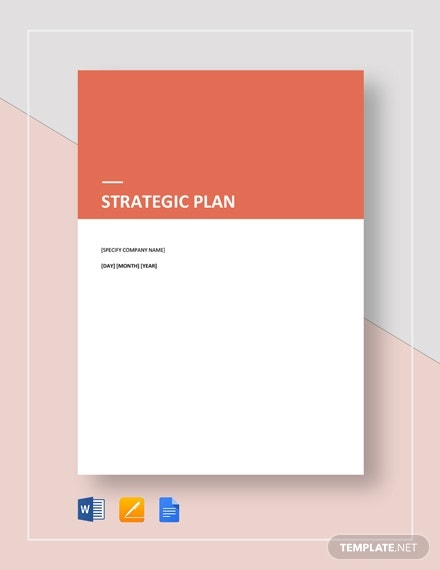 printable strategic plan