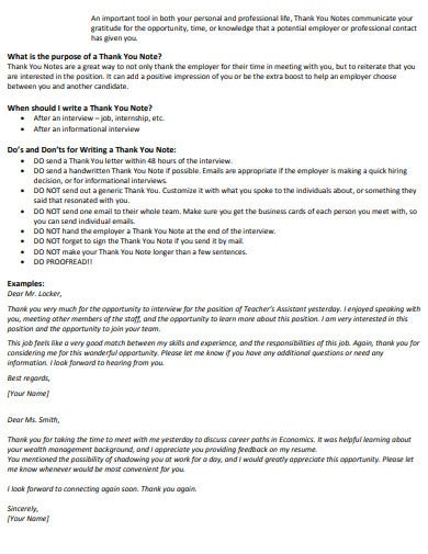 professional thank you email after interview