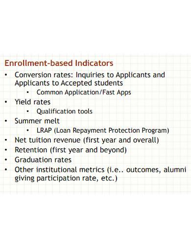 recruiting enrollment funnel