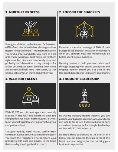 recruitment content marketing strategy
