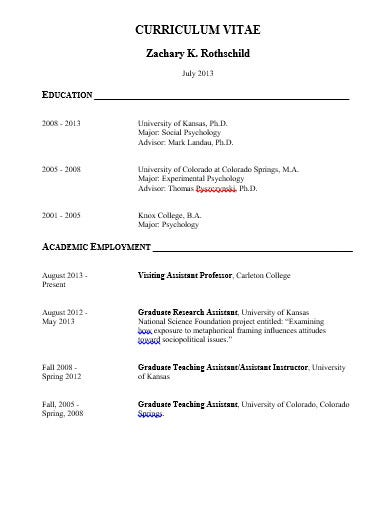 research assistant cv template in doc
