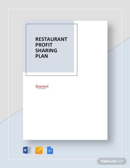 restaurant profit sharing plan 2