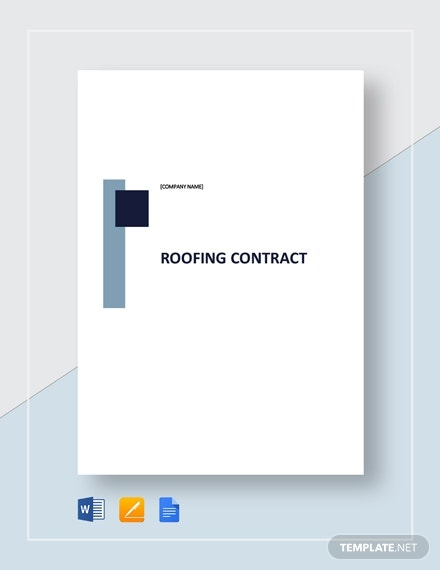 roofing contract 2