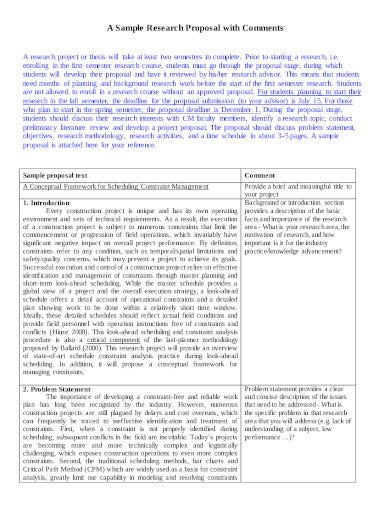 sample research paper proposal template