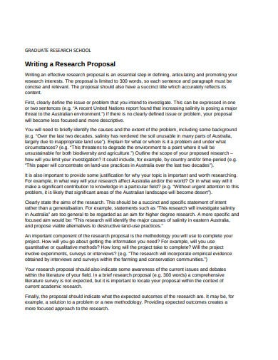 Example research proposal on guidance and counseling ar
