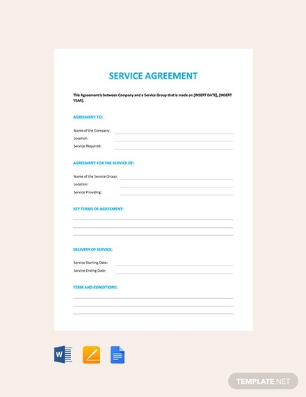 service agreement1