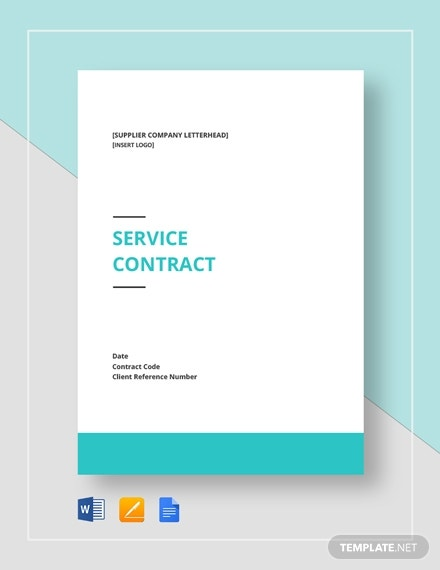 service contract 23