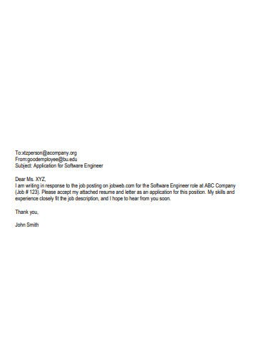 short thank you email after engineer interview