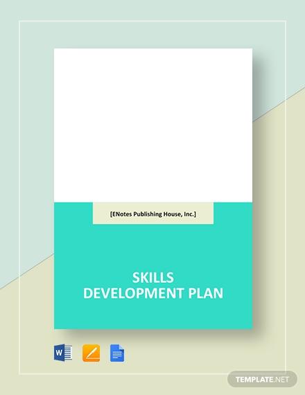 skills development plan