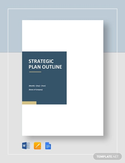 strategic plan outline template