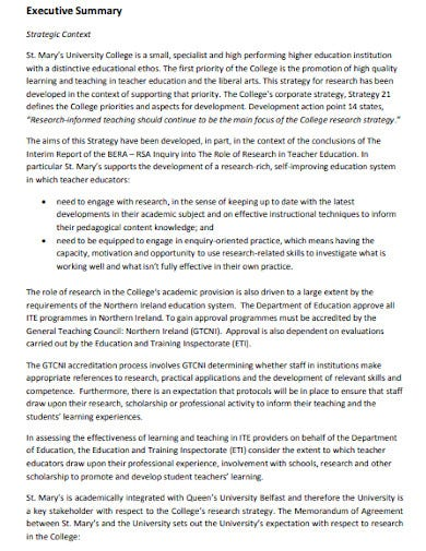 strategic plan for research development
