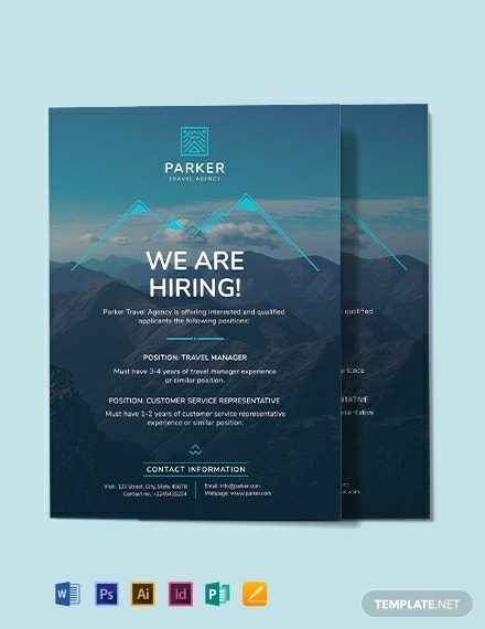 travel agency announcement template 440x570 1