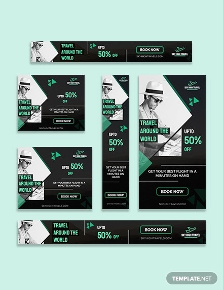 travel banner ads template 1