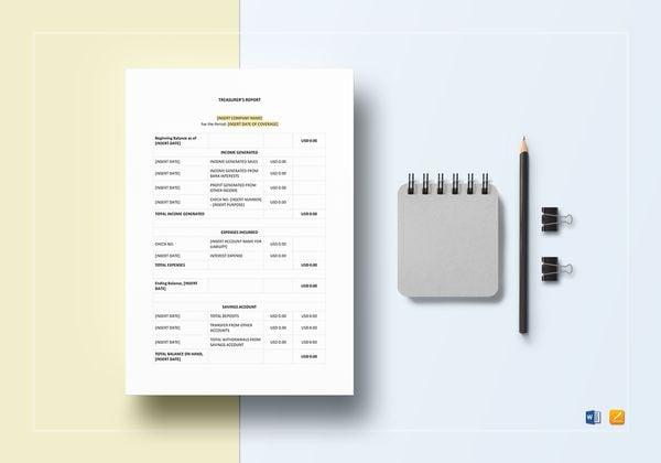 treasurer report template 600x4201