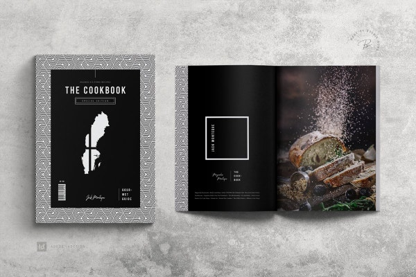 black and white cookbook 1