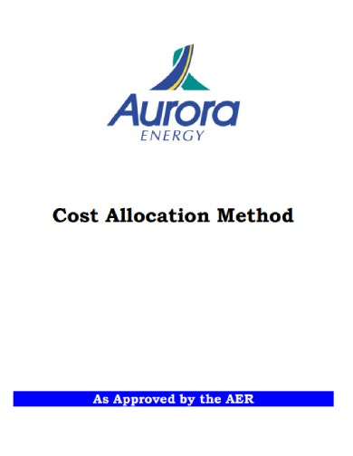 cost allocation method