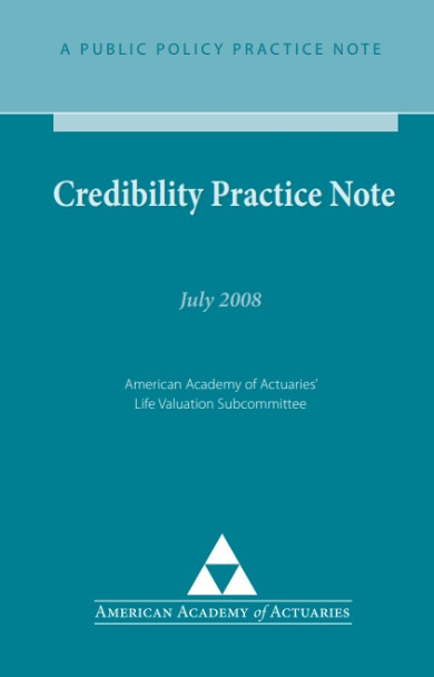 credibility theory guide