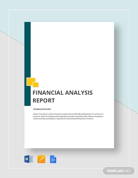 financial analysis report3
