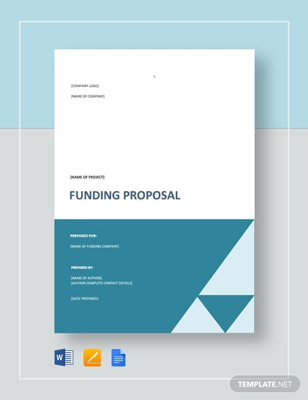 funding project proposal