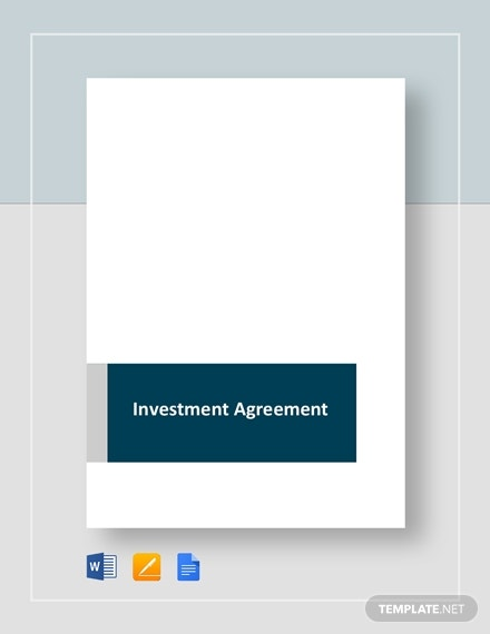 investment agreement