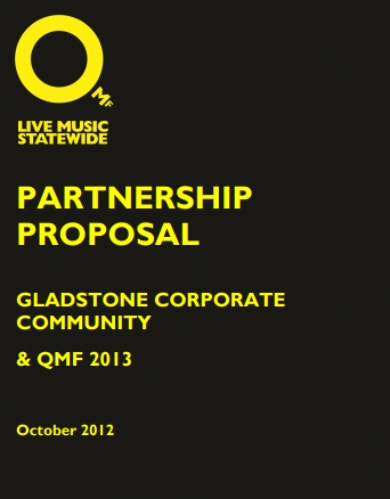 music business partnership proposal sample