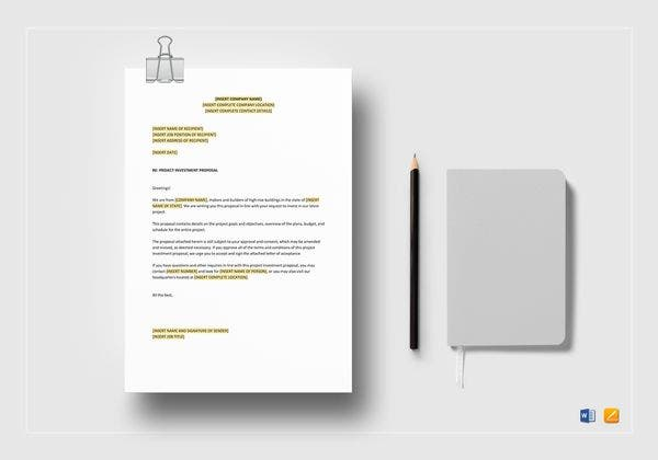 project investment proposal mockup 600x420