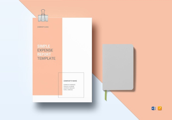simple expense report template 1