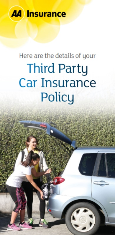 third party insurance policy sample