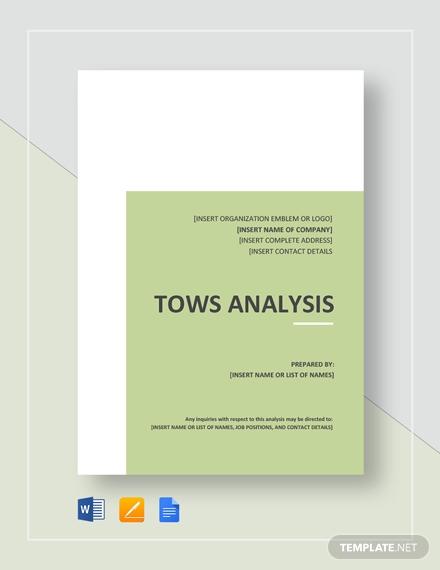 tows analysis
