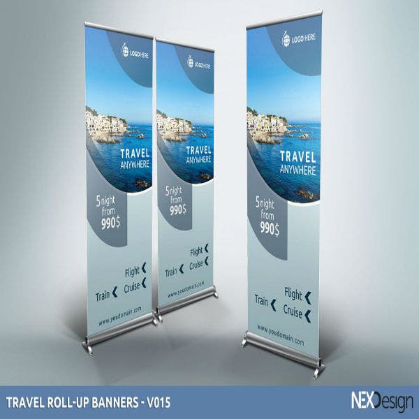 travel roll up banners v015