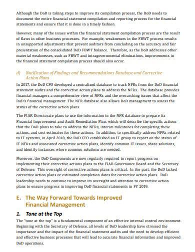 audit remediation action plan