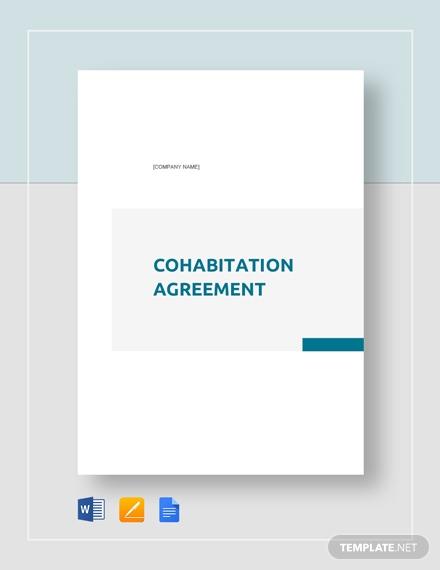 cohabitation agreement 440 1