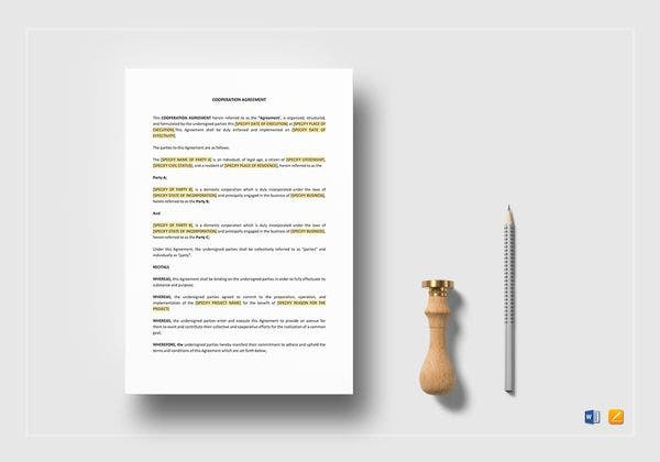 cooperation agreement mockup 600x420