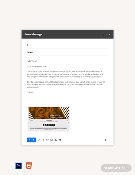 creative email signature template1