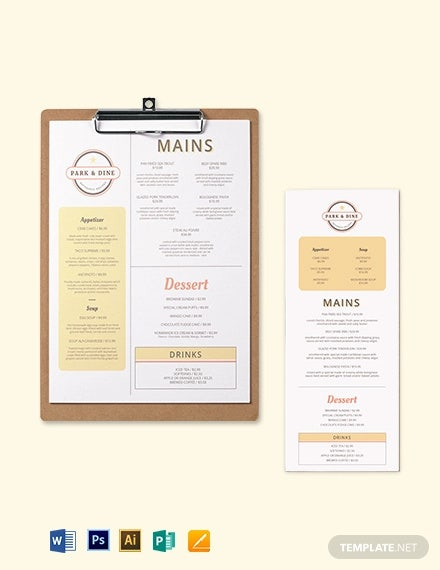 creative restaurant menu template1